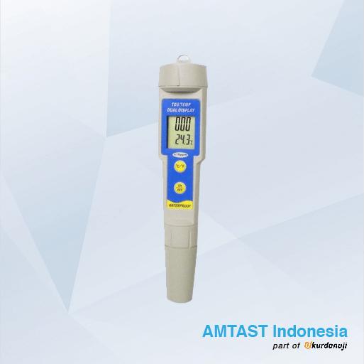 Alat Ukur TDS dan Suhu Tahan Air AMTAST KL-1396P