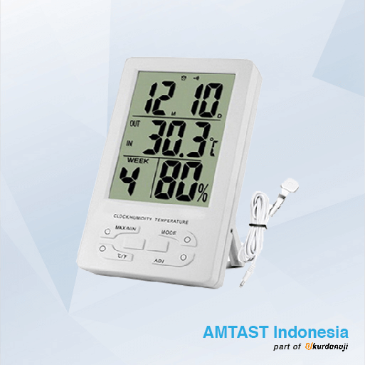Alat Ukur Suhu Ruangan AMTAST TH95  6c9e8673e1