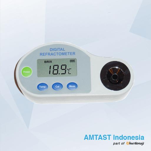 Refraktometer Digital Untuk Salinitas AMTAST DBS1