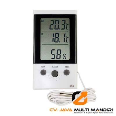 Termometer Dalam dan Luar Ruangan AMTAST DT-3