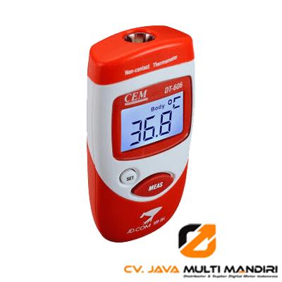 Termometer Inframerah Mini AMTAST DT-606